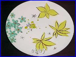 11 Thelma Winter Enamel Steel Art Plate Modern Midcentury Painting (not Copper)