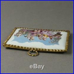 18th Century English Battersea Enamel Plaque 1765 Provenance Mrs Nellie Ionides