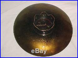 50s Margaret Johnson Wildweed Modern Enamel Copper Art Plate Midcentury Painting