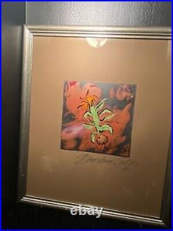 Barbara Culp Artwork Signed Enamel Art Work