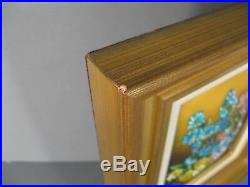 Bouquet De Printemps Enamel Art Limoges Signed Faure Master Glazer