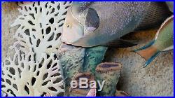 Bovano Handmade Metal Art Enameled Paint Marinelife