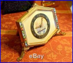 DOXA WATCH CO. Hand Painted Porcelain Dial, Enamel Art