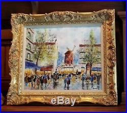 David Karp enamel on copper painting