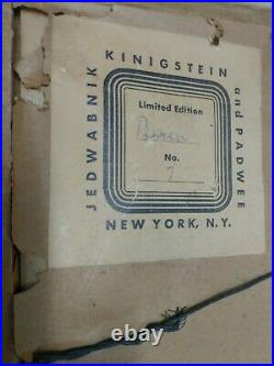 ENAMEL ON COPPER MIRA JEDWABNIK VAN DOREN & JANE PADWEE PERSIAN No. 7 NEW YORK