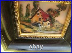 Enamel Copper Pierre Bonnet French Limoges Hand Painted Signed Painting Art