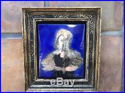 French Artist Madeleine Stanley Jossem Original Enamel Painting
