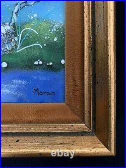 Malcolm Moran Original Signed Enamel Paintings Lot of 2
