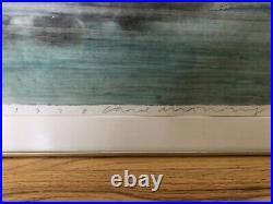 Original Signed Carol Anthony After The Storm Craypas & Enamel On Paper