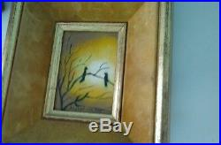 Raphael signed Numbered Enamel on Copper Painting Vintage Academy Arts