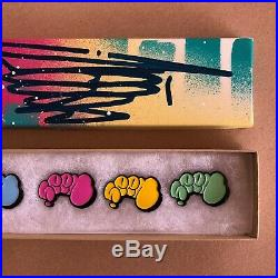 Seen Hand Painted Signed Volume 3 Enamel Pin Box Set Graffiti Art Limited Rare