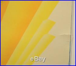 Spectacular Advertising Poster Waterspar Enamel Paints Art Deco PPG Co
