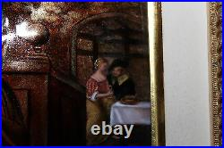 Vintage Betourne French Limoges Jp Loup Edition 3 Of 8 Enamel Copper Picture