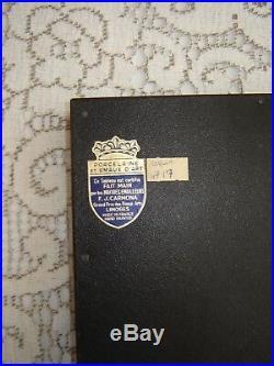 Vintage Enamels over Porcelain signed by Masters F. J CARMONA, Limoges, France