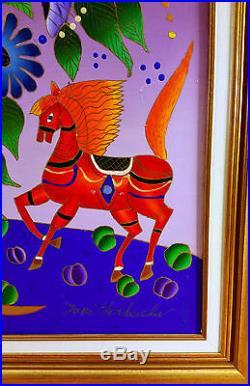 Yuri Gorbachev Original Painting, Stil live, Oil on canvas, gold, bronze, enamel